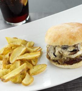 Hamburguesa The Burger World Segovia menú día